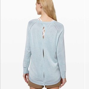 New LULULEMON Lead With Your Heart Sweater HRST 6